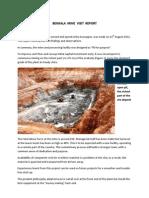 Benkala Mine Visit Report