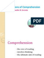 Dimensions of Comprehension