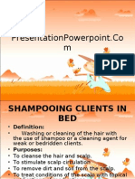 Shampoo in Bed
