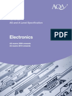 AQA a-Level Electronics