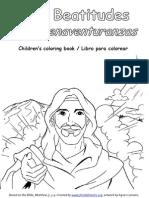 Los Bienaventuranzas_libro para colorear - Beatitudes Coloring Book