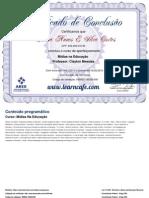 Certificate 595832.165238.891 Learncafe