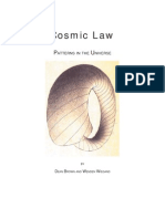 Cosmic Law Patterns in the Universe by Dean Brown