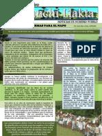 Boletín - 18° edición - ÑUKANCHI LLAKTA - Sta Clotilde - Peru