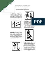 Seven Tenants of Bushido