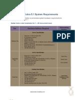 Deltek Cobra 5 System Requirements