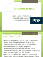 Matlamat Tamadun Islam (2)