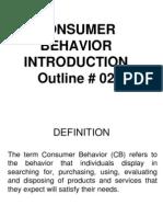 Outline 2 CB Intro