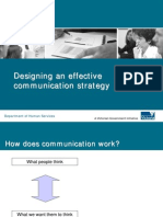 Designing an effective communication strategy