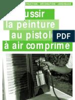 La peinture au pistolet à air comprimé