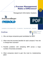 Can Business Process Management Make a Difference?