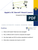 Apple's Supply-Chain Secret? Hoard Lasers