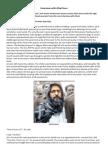 Interview With Afzal Guru