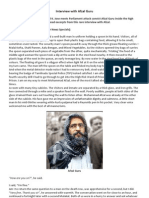 Interview With Afzal Guru