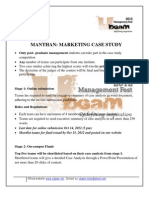 Marketing Case Manthan