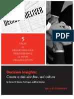 Bain 2010 Decision Insights 7