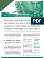 Pattern Relationships
