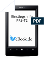 Anleitung PRS T2