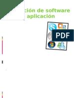 Instalación de software de aplicación