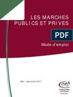 Appels d'Offres Et Execution Des Marches MAJ Sept11