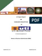 Consumer Perception Uti Mutual Fund