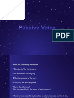 Passive Voice 1