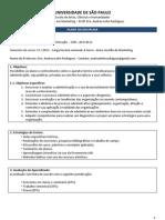 Programa - Fundamentos de ADM 2013
