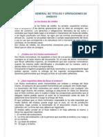 UNIDAD  IV LEY GENERAL DE TÍTULOS Y OPERACIONES DE CRÉDITO final