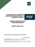 Examenes Septiembre 2011 Ue