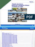 Estado Avance Planes TU Ciudades Chile Diciembre 2009