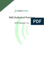 SMS Outbound Premium - HTTP v1.1
