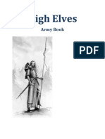 High Elves 8th Edition Army Book. by Asurion V1.3