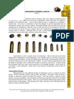 Text Unit 7 Ammunition Ballistics Analysis