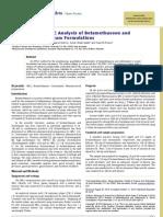 Simultaneous HPLC Analysis of Betamethasone and Clotrimazole