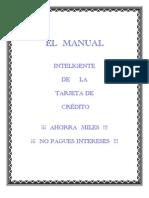 Manual Tarjeta Credito