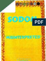 Sodom Misinterpreted