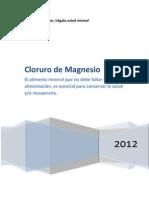 Cloruro de Magnesio - Manual
