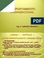 COMPORTAMIENTO ORGANIZACIONAL- sem 09-I.ppt