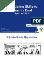 Fasset Negotiation Skills Slides Presentation