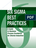 Six Sigma Best Practices