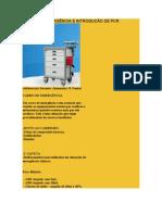 CARRO DE EMERGÊNCIA E INTRODUÇÃO DE PCR