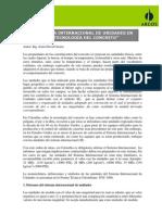 Sistema Internacional de Unidades en La Tecnologia Del Concreto