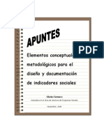 Apuntes Indicadores+Gc 2008