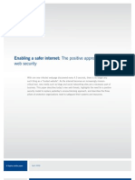 Enabling a Safer Internet--The Positive Approach to Web Security