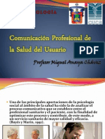 Comunicación profesional de la Salud del Usuario