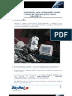 Manual Config Modem Shiron Cambio de Polaridad y BUC iDirect