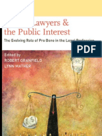 Private Lawyers and Public Interest
