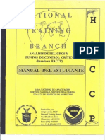 HACCP Manual Del Estudiante USDC NOAA