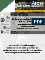 NCh1017 y NCh1325