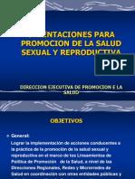 Eje Tematico Salud Sexual y Reproductiva TOE